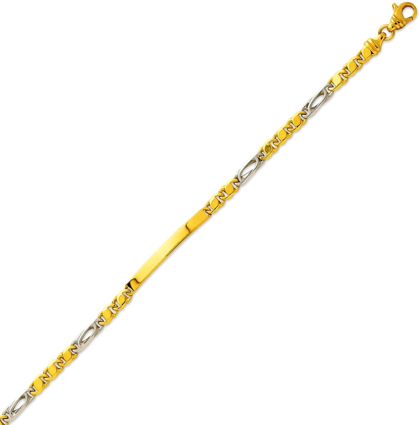 Bracelet Identité Junior Plaque Rectangle, 7.45gr, Bijou 2